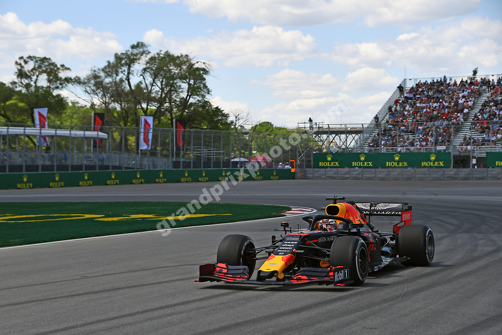 Max Verstappen (Toro Rosso-Honda) during practice for the 2019 Canadian Grand Prix in Montreal. Photo: Grand Prix Photo