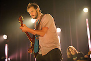 Bon Iver performing at the Pageant in St. Louis, Missouri on August 20, 2011. © Todd Owyoung.