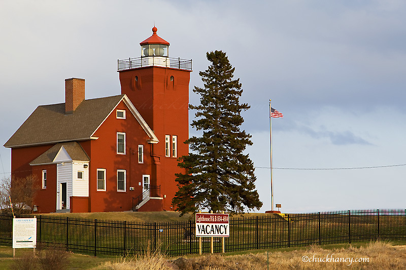Lighthouse at Two Harbors Minnesota