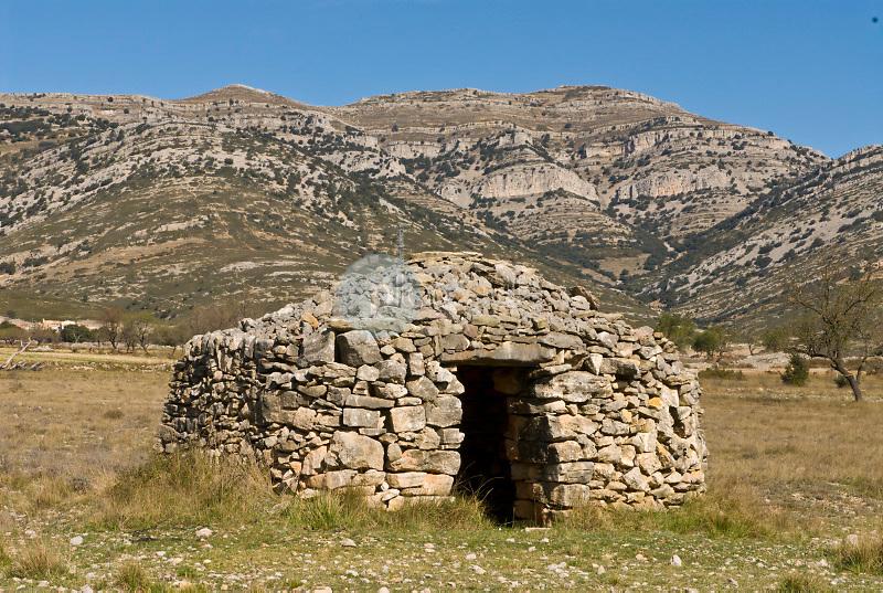 Chozo de pastores.  Ares de Maestre. El Maestrazgo. Castellón ©Antonio Real Hurtado / PILAR REVILLA