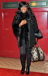 © Licensed to London News Pictures. 08/03/2016. MICA PARIS attends the Motown The Musical press night. Motown hits featured in the production include Dancing In The Street, I Heard It Through The Grapevine and My Girl. London, UK. Photo credit: Ray Tang/LNP