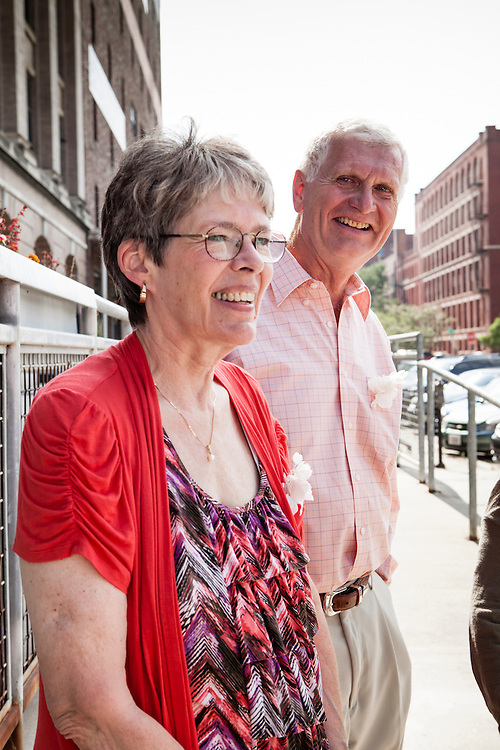 13 July 2012- Lisa Vitale and Jimmy Janvrin are photographed on Jones St in the Old Market.
