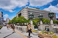 Japon, île de Honshu, Kansai, Osaka, la mairie // Japan, Honshu island, Kansai, Osaka, Osaka city hall