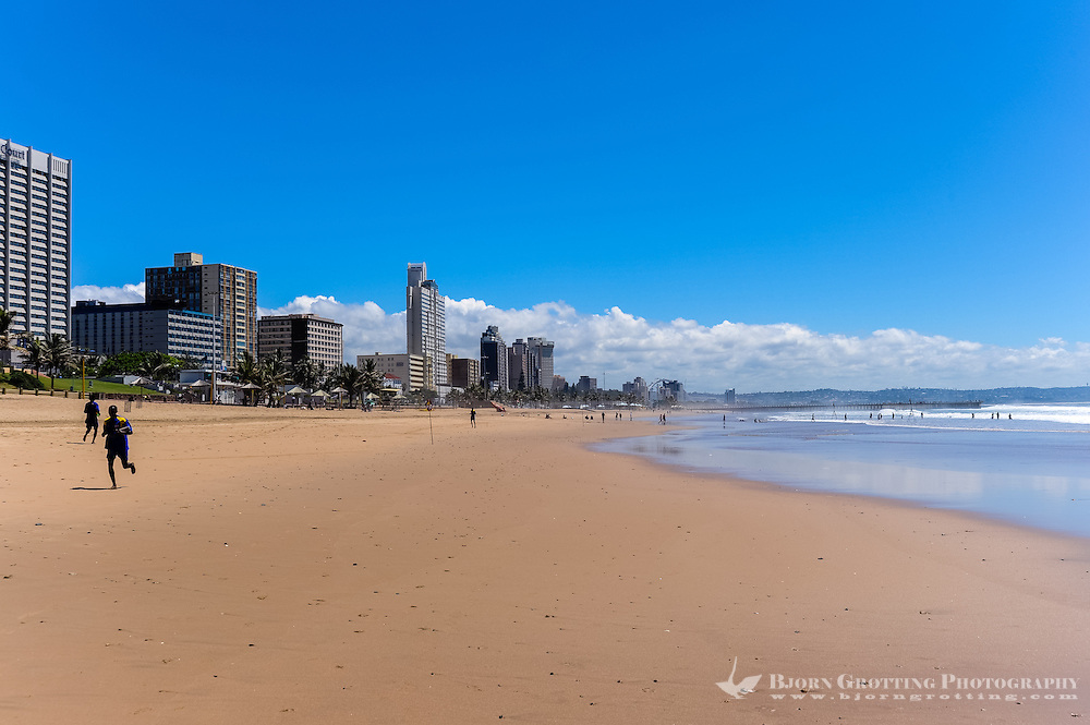 Durban is the third most populous city in South Africa, the city has a population of almost 3.5 million. Long sand beaches.