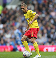 Almen Abdi during the Sky Bet Championship match between Brighton and Hove Albion and Watford at the American Express Community Stadium, Brighton and Hove, England on 25 April 2015.