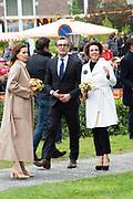 Koningsdag 2019 in Amersfoort / Kingsday 2019 in Amersfoort.<br /> <br /> Op de foto: Prins Bernhard en Prinses Annette
