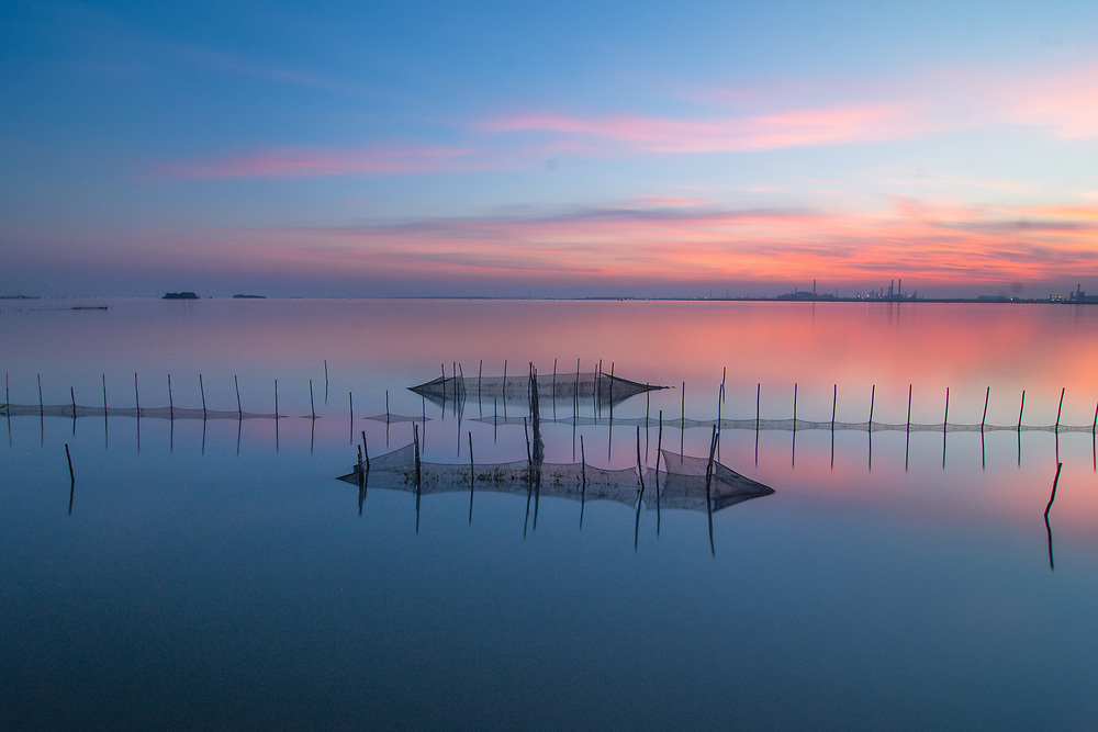 Photography: Color, Digital on Aluminium, Canvas, Forex or photographic paper.<br /> <br /> Fishing nets in the Venetian Lagoon.<br /> <br /> PRICE: 250,00 €<br /> Shipping included<br /> 7 day money-back guarantee<br /> <br /> <br /> <br /> Styles:<br /> <br /> Fine Art<br /> Minimalism