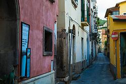 Sorrento, Italy, September 15 2017. A quiet street at daybreak in Sorrento, Italy. © Paul Davey