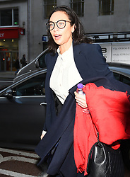 Lilly Becker arrives at the Central Family Court in London, where she is embroiled in a divorce dispute over money with her estranged husband, tennis star Boris Becker.