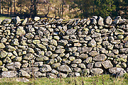 Dry-stone wall, Lake District, England, United Kingdom