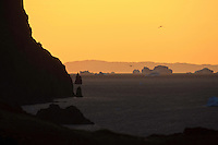diskobay; Greenland; iceberg; qeqertarsuaq; sunset