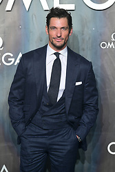 David Gandy attending the Lost in Space event to celebrate the 60th anniversary of the OMEGA Speedmaster held in the Turbine Hall, Tate Modern, 25 Sumner Street, Bankside, London.