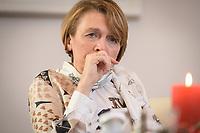 14 DEC 2020, BERLIN/GERMANY:<br /> Elke Buedenbender, Juristin und Gattin des Bundespraesidenten, waehrend einem Interview, Schloss Bellevue<br /> IMAGE: 20201214-01-015<br /> KEYWORDS: Elke Büdenbender, First Lady
