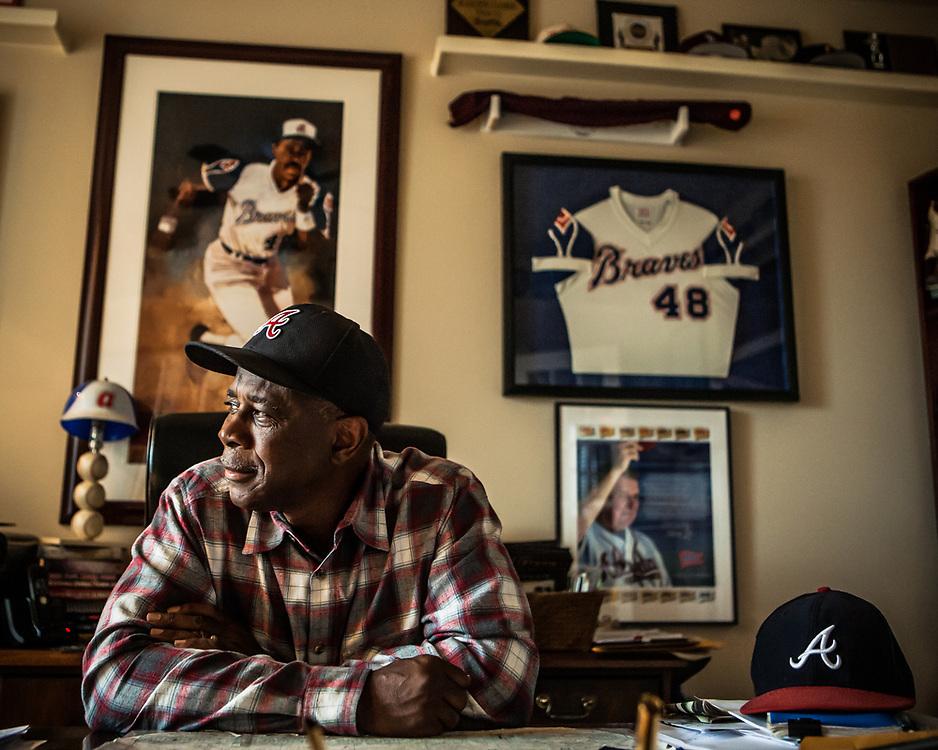 Ralph Garr - Baseball - Atlanta Braves - Houston, Texas - 2013