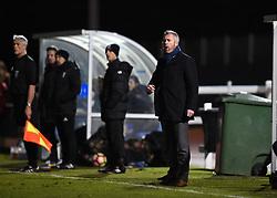 Willie Kirk manager of Bristol City Women - Mandatory by-line: Paul Knight/JMP - 28/03/2018 - FOOTBALL - Stoke Gifford Stadium - Bristol, England - Bristol City Women v Birmingham City Ladies - FA Women's Super League