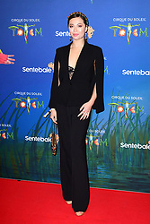 Katya Jones attending the premiere of Cirque du Soleil's Totem, in support of the Sentebale charity, held at the Royal Albert Hall, London.