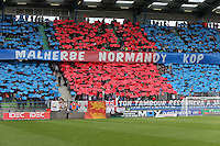 SUPPORTERS CAEN - 09.05.2015 -  Caen / Lyon  - 36eme journee de Ligue 1<br />