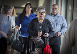 June 9, 2017 - St. Paul, MN, USA - United States - The family of Jeronimo Yanez made their way into the Ramsey County Courthouse, Friday, June 9, 2017 as the trial continues in the death of Philando Castile.   ]  ELIZABETH FLORES • liz.flores@startribune.com (Credit Image: © Elizabeth Flores/Minneapolis Star Tribune via ZUMA Wire)
