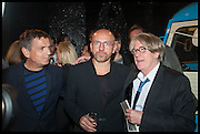 ANDREAS GURSKY; SVEN VAETH; ; FRANK COHEN, Frank Cohen and Nicolai Frahm host Julian Schnabel's 'Every Angel has a Dark Side,' private view and party. IN AID OF CHICKENSHED. Dairy Art Centre, 7a Wakefield Street, London. 24 APRIL 2014