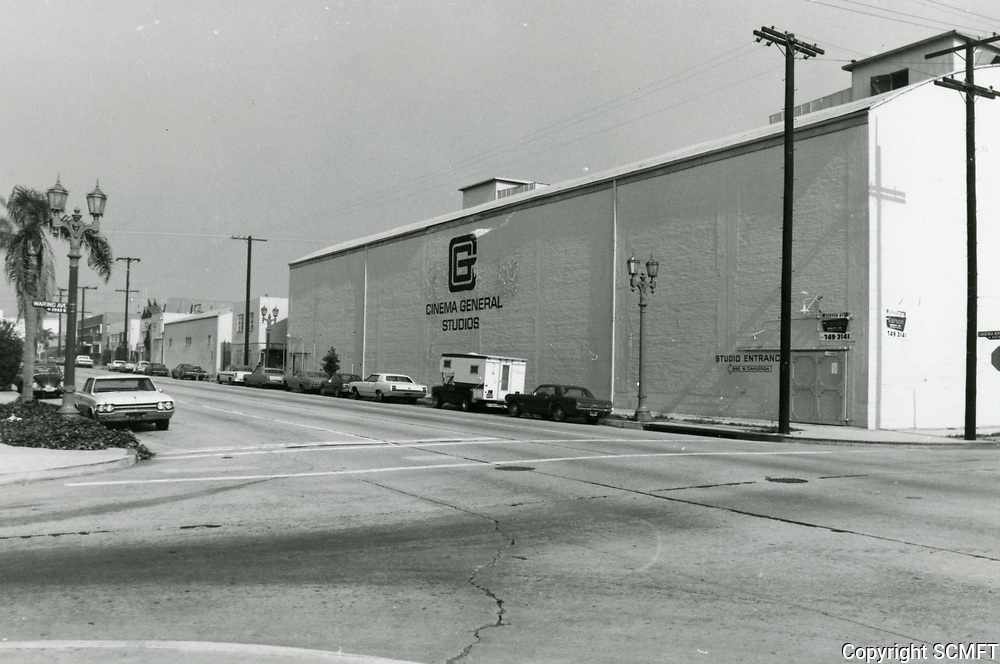 1974 Cinema General Studios on Cahuenga Blvd. at Waring Ave.