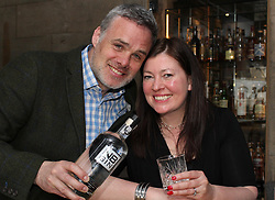 Steve and Vivienne Muir of NB Gin Distillery, North Berwick, have secured a deal in the US worth £4m over five years with a US retailer. 19032018 pic by Terry Murden @edinburghelitemedia tel: 07971 686038