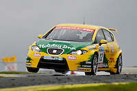 2008 British Touring Car Championship.  Knockhill, Scotland, United Kingdom.  16th-17th August 2008.  (12) - Darren Turner (GBR) - SEAT Sport UK SEAT Leon TDI.  World Copyright: Peter Taylor/PSP. Copy of publication required for printed pictures. Every used picture is fee-liable.