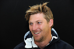 Middlesex's Ollie Rayner - Photo mandatory by-line: Harry Trump/JMP - Mobile: 07966 386802 - 28/04/15 - SPORT - CRICKET - LVCC Division One - County Championship - Somerset v Middlesex - Day 3 - The County Ground, Taunton, England.