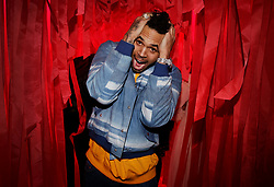File photo - Chris Brown attending the Red Obsession Party to celebrate L'Oreal Paris's partnership with Paris Fashion Week in Paris, France, March 08, 2016. US singer Chris Brown was arrested in Paris yesterday morning January 21, 2019, with two other people on suspicion of rape, a French police source said. Three men had been detained after a 24-year-old woman alleged she was raped at Brown's hotel suite on the night of January 15, 2019. Photo by Jerome Domine/ABACAPRESS.COM