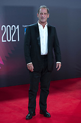 Vincent Lindon attending the Titane Premiere as part of the 65th BFI London Film Festival at the Royal Festival Hall in London, England on October 09, 2021. Photo by Aurore Marechal/ABACAPRESS.COM