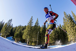 Erik Lesser (GER) during Men 15 km Mass Start at day 4 of IBU Biathlon World Cup 2015/16 Pokljuka, on December 20, 2015 in Rudno polje, Pokljuka, Slovenia. Photo by Urban Urbanc / Sportida
