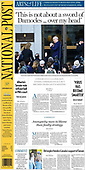 October 06, 2021 - CANADA: Front-page: Today's Newspapers In Canada