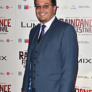 Vincent Salas attends the Raindance Opening Gala 2018 held at Vue West End, Leicester Square on September 26, 2018 in London, England.