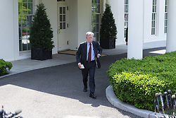 April 30, 2019 - Washington, District of Columbia, United States - U.S. national security adviser JOHN BOLTON spoke to reporters on Tuesday as chaos rules on the streets of Venezuela He singled out three senior aides to Venezuelan President Nicolas Maduro whom he said must make good on commitments they made to the opposition for a peaceful transition away from Maduro. April 30, 2019 (Credit Image: © Douglas Christian/ZUMA Wire)