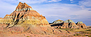 Neopolitan Buttes  in the Red Desert of Wyoming