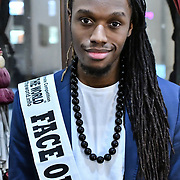 Face of the World 2019/20 - Pavel Diaz attend the Mr & Miss Congo 2020,on 29th February 2020 at Old Townhall,Stratford, London, UK.