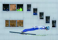 31.12.2016, Olympiaschanze, Garmisch Partenkirchen, GER, FIS Weltcup Ski Sprung, Vierschanzentournee, Garmisch Partenkirchen, Qualifikation, im Bild Michael Hayboeck (AUT) // Michael Hayboeck of Austria during his Qualification Jump for the Four Hills Tournament of FIS Ski Jumping World Cup at the Olympiaschanze in Garmisch Partenkirchen, Germany on 2016/12/31. EXPA Pictures © 2016, PhotoCredit: EXPA/ Jakob Gruber