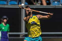 Tom Craig of Australia during the Champions Trophy finale between the Australia and India on the fields of BH&BC Breda on Juli 1, 2018 in Breda, the Netherlands.
