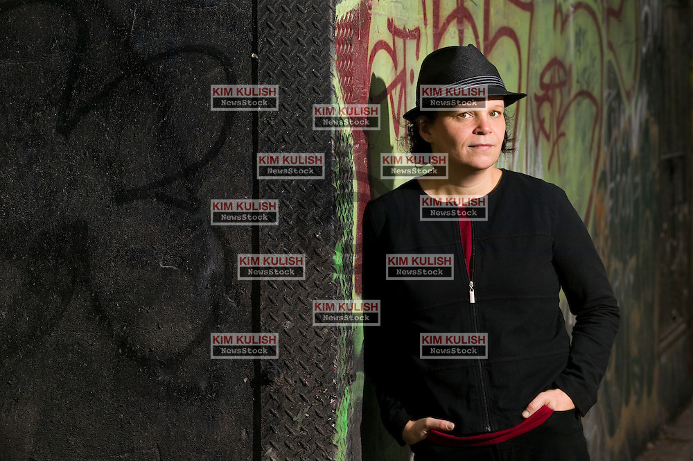 Portrait of  Monika Bauerlein, the co- editor-in-chief of Mother Jones , a national political and investigative magazine based in San Francisco.  Photo By Kim Kulish