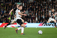 DERBY, ENGLAND - MAY 11: - DCFC vs Fulham. Andreas Weimann goes on the aatack with the ball