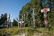 Stanley Park, Totem poles, Vancouver, British Columbia, Canada