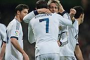 Cristiano Ronaldo greetings to Coentrao