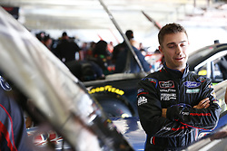 November 2, 2018 - Ft. Worth, Texas, United States of America - Ty Majeski (60) hangs out in the garage during practice for the O'Reilly Auto Parts Challenge at Texas Motor Speedway in Ft. Worth, Texas. (Credit Image: © Justin R. Noe Asp Inc/ASP via ZUMA Wire)