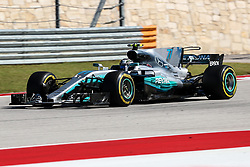 October 22, 2017 - Austin, Texas, U.S - Valtteri Bottas (77) of Finland in action during the Formula 1 United States Grand Prix race at the Circuit of the Americas race track in Austin,Texas. (Credit Image: © Dan Wozniak via ZUMA Wire)