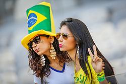 Torcida Brasileira na partida entre Brasil x Chile, válida pelas oitavas de final da Copa do Mundo 2014, no Estádio Mineirão, em Belo Horizonte. FOTO: Jefferson Bernardes/ Agência Preview