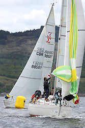 The Silvers Marine Scottish Series 2014, organised by the  Clyde Cruising Club,  celebrates it's 40th anniversary.<br /> Day 1, Sigma 33 Class, SSI, IRL584, Close Encounters, Griogair Whyte, RNCYC<br /> <br /> Racing on Loch Fyne from 23rd-26th May 2014<br /> <br /> Credit : Marc Turner / PFM