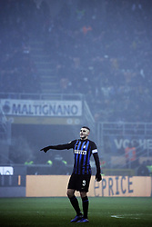 December 26, 2018 - Milan, Milan, Italy - Mauro Icardi #9 of FC Internazionale Milano during the serie A match between FC Internazionale and SSC Napoli at Stadio Giuseppe Meazza on December 26, 2018 in Milan, Italy. (Credit Image: © Giuseppe Cottini/NurPhoto via ZUMA Press)