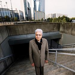 Portrait of Azim Premji, 58, Wipro's chairman and principal shareholder / September 18, 2008 / photo: Antoine Doyen