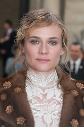 Diane Kruger attending the Valentino's Spring-Summer 2016/2017 Ready-To-Wear collection show held at the Salomon de Rothschild Hotel in Paris, France, on October 2, 2016. Photo by Nicolas Genin/ABACAPRESS.COM