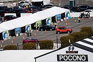 COVID-19 Vaccination Clinic at Pocono Raceway