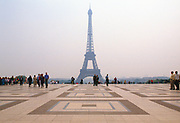Place du Trocadero with Eiffel Tower in the background, Paris France
